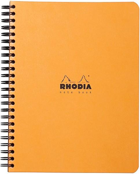 Rhodia 19342C Notizbuch (DIN A5, kariert, ideal für Ihre Notizen, 14,8 x 21 cm, 80 Blatt) 1 Stück fa