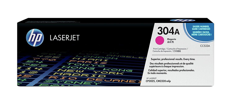 Vorschau: Original HP Toner CC533A für COLOR LASERJET CP2025 CP2320 magenta