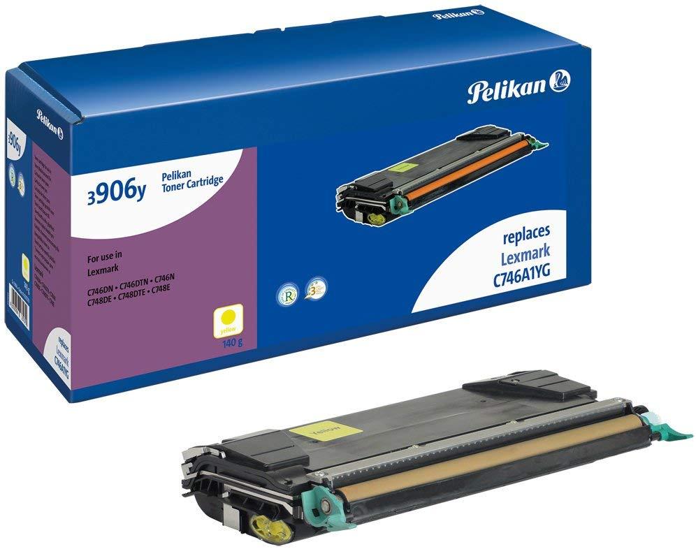 Pelikan Toner ersetzt Lexmark C746A1YG, Yellow, 7000 Seiten