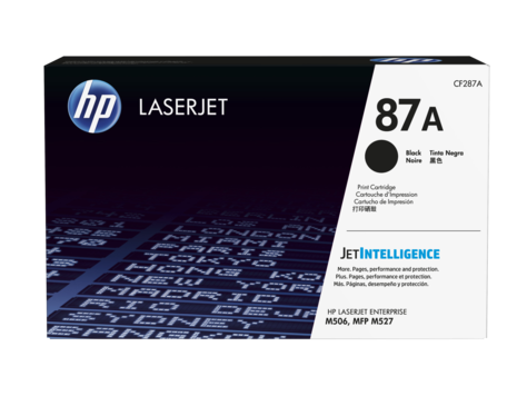 Original HP Toner CF287A für Laserjet Enterprise  M506  etc. Black