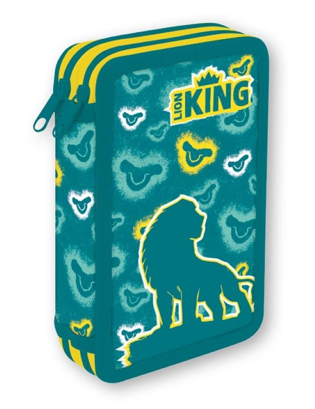 Disney Federmäppchen von Lion King 20x13x4.5cm, gefüllt