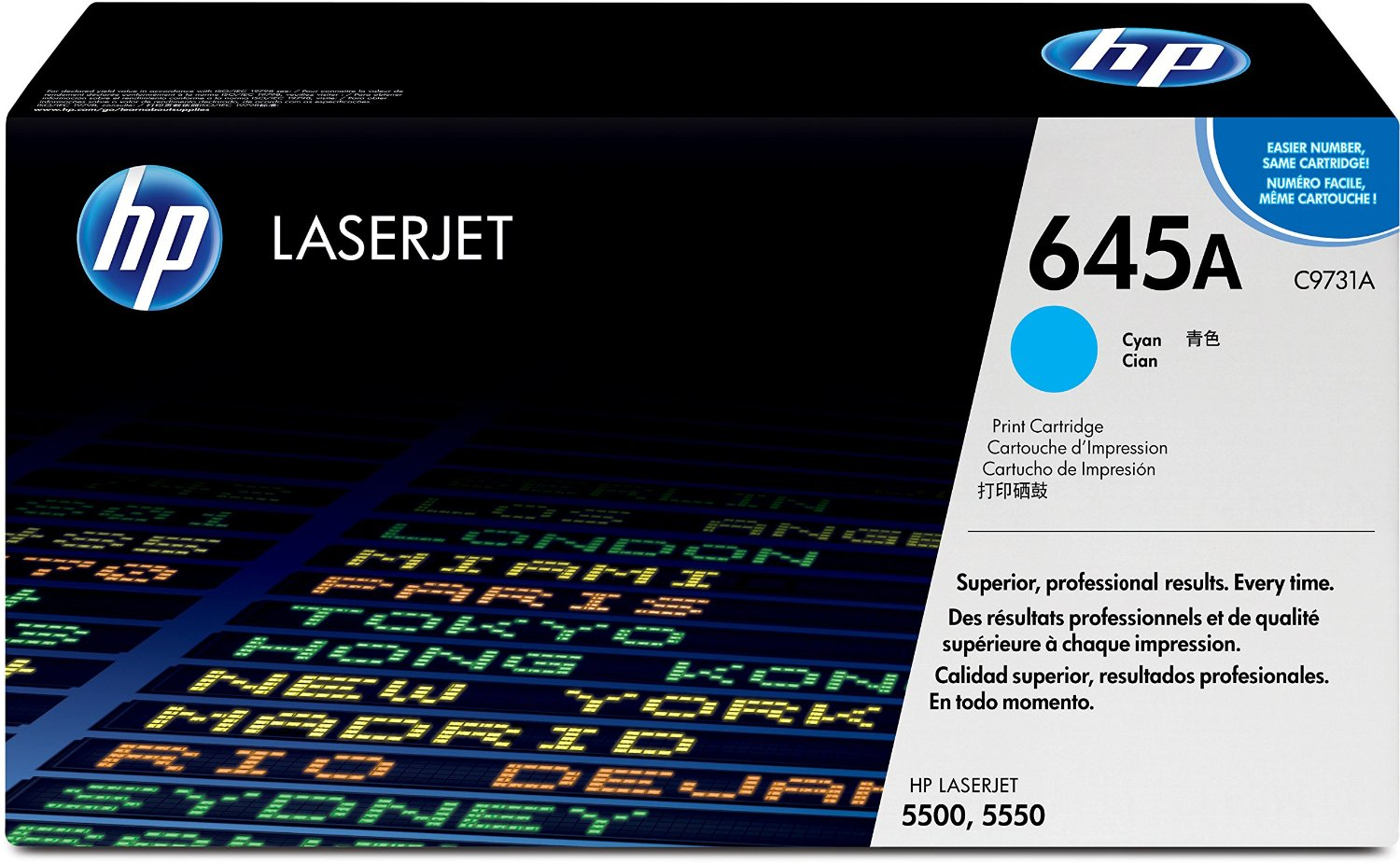 Original HP Toner C9731A für Color Laserjet 5500 cyan