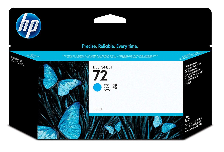 HP Tintenpatrone C9371A  Nr. 72 für Deskjet T 1100 etc. cyan