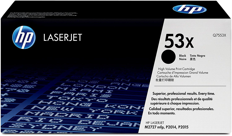 Vorschau: Original HP Toner 53X / Q7553X für LASERJET P2015 schwarz