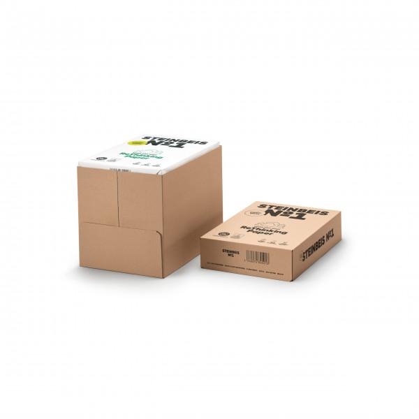 Steinbeis No 1 - Classic White 80g/m² DIN-A4 2500 Blatt 100% Recycling