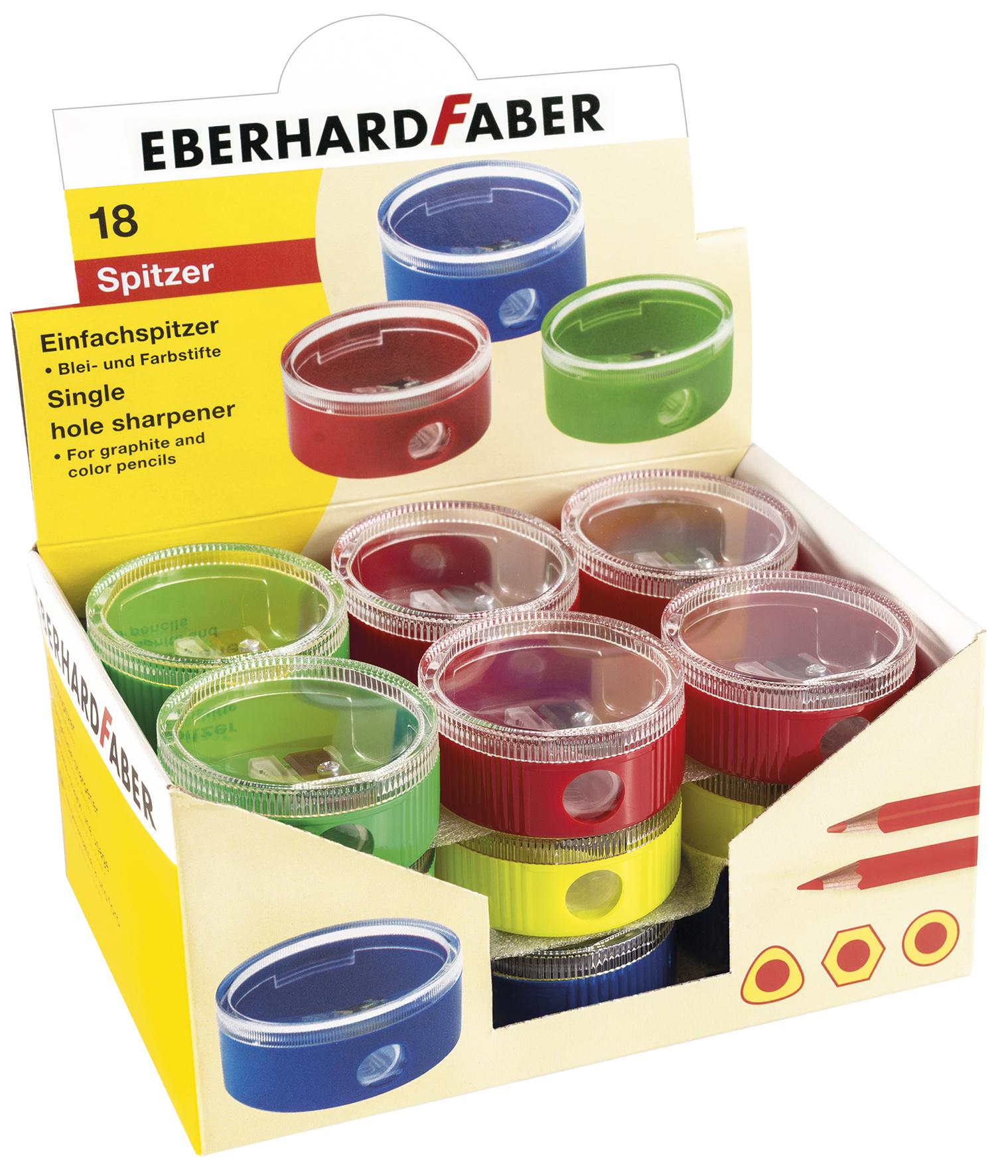 EberhardFaber Einfachspitzdose 18er Schachtel