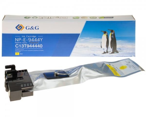 G&G Tintenpatrone kompatibel mit Epson T9444/ C13T944440 Gelb