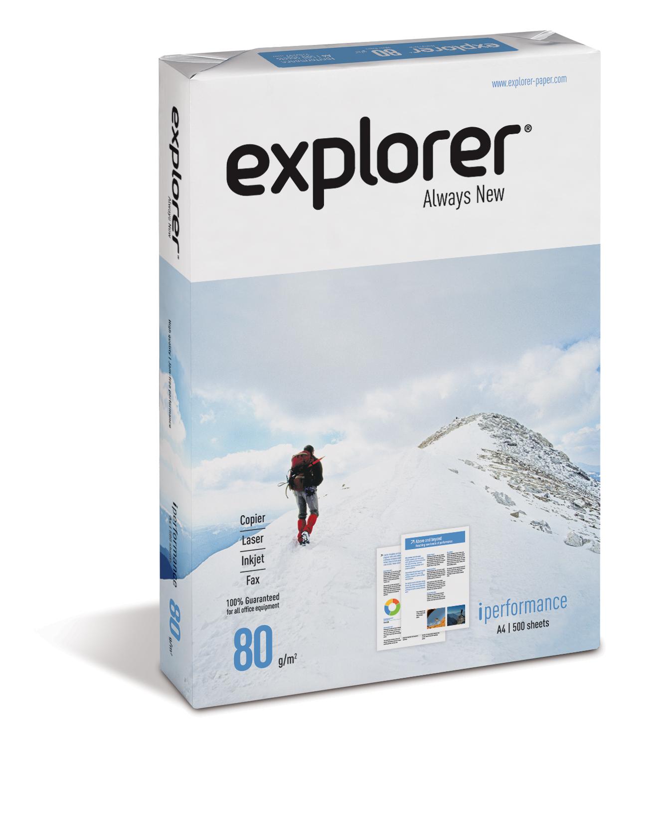 Explorer Always New 80g/m² Papier DIN-A4 - 500 Blatt weiß