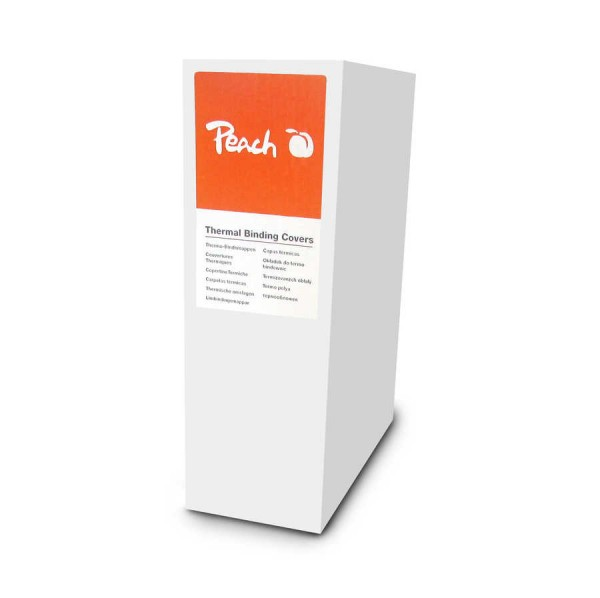 Peach Thermobindemappe weiss für 100 Blätter (A4, 80g/m2), 10 Stück - PBT310-01