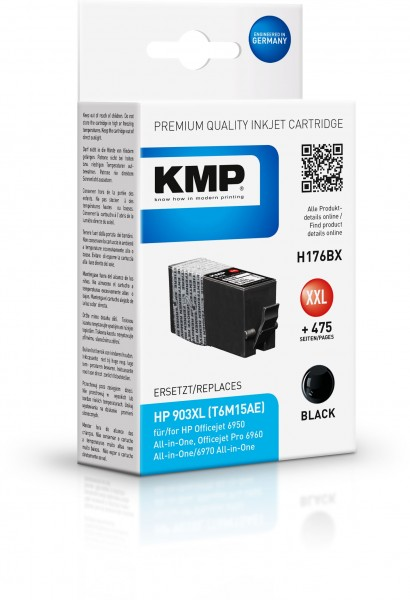 KMP Patrone H176BX für (T6M15AE) HP 903XL HP OfficeJet 6900 Series HP OfficeJet Pro 6860 Series etc.