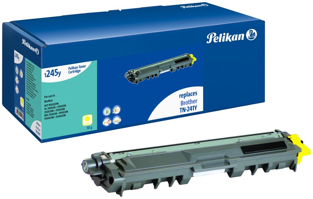 Pelikan Toner für Brother TN-241Y DCP-9020 CDW etc. yellow