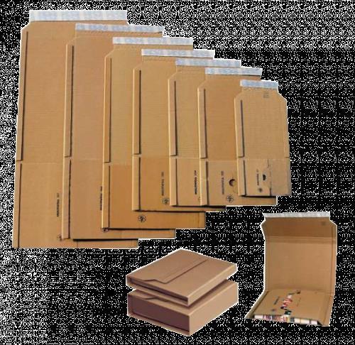 20 x Buchverpackung A4 302 x 215 x 20-75 mm Progress