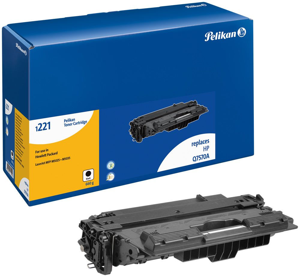 Pelikan Toner 1221 für HP Q7570A LaserJet  M5035MFP etc. Black