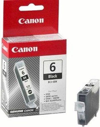 Vorschau: Original Canon BCI-6BK Patrone Pixma iP 4000 5000 6000 black