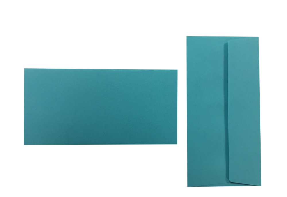 Pop'Set Umschläge DIN Lang karibischblau 120g/m² 100 Stück
