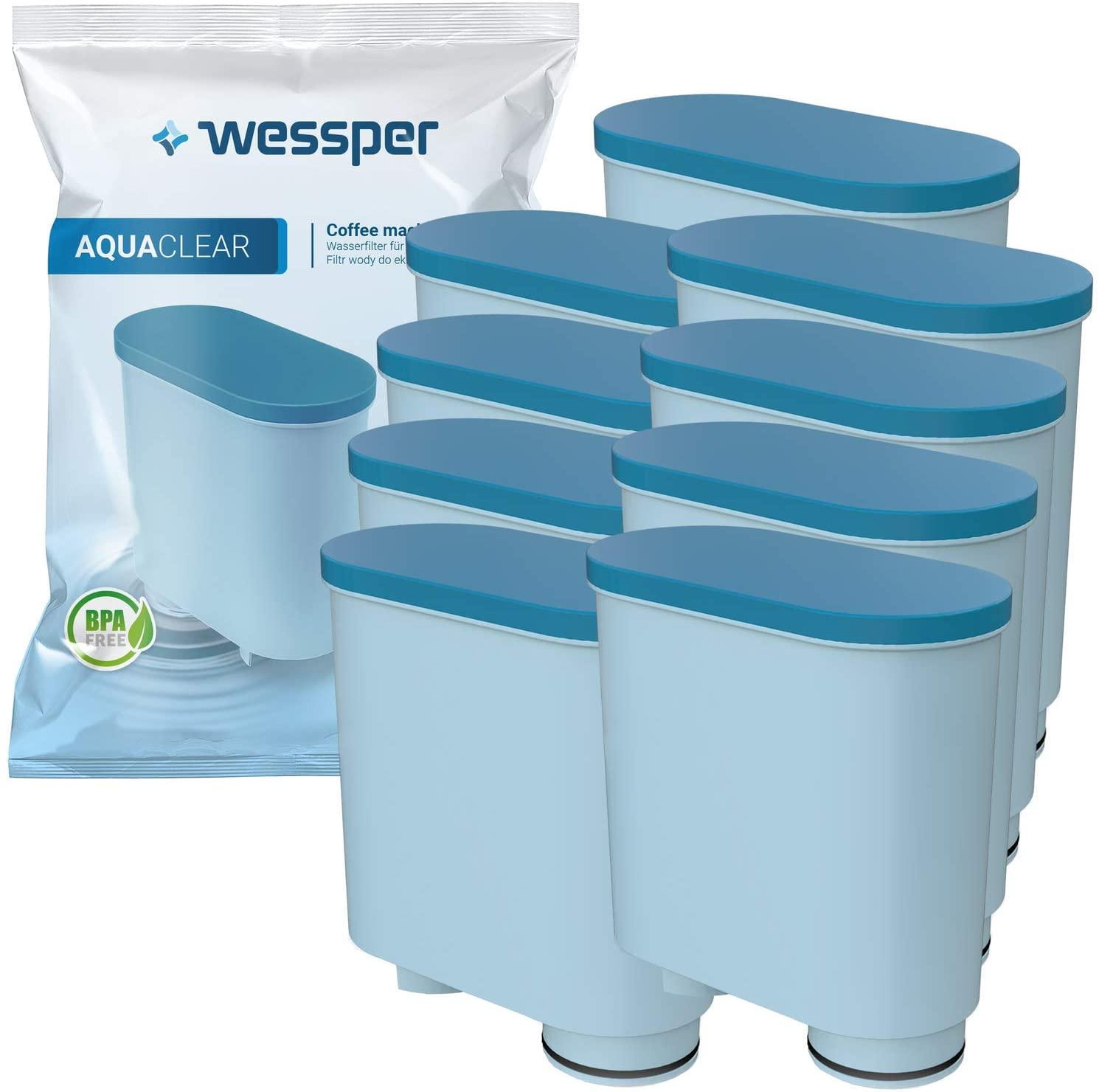 Wessper Wasserfilter kompatibel mit Philips AquaClean CA6903/10 CA6903/22 CA6903 Kalkfilter, Aqua Cl
