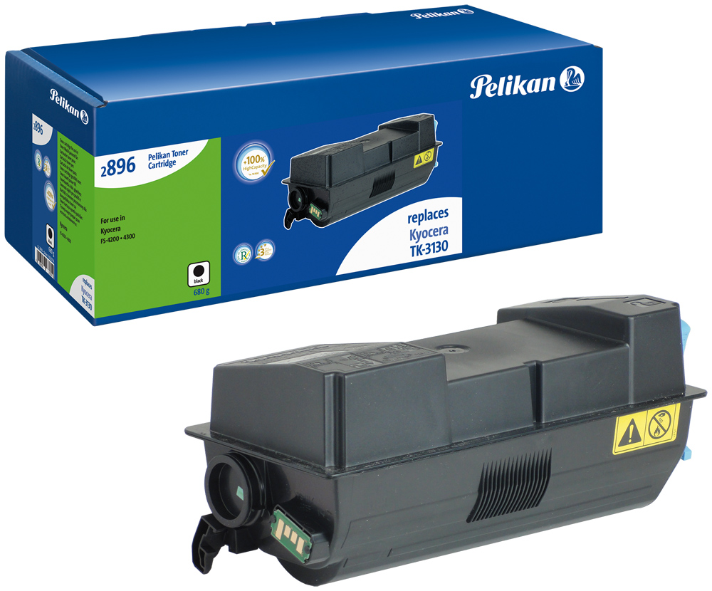 Pelikan Toner für Kyocera TK-3130 ECOSYS M3550 idn etc. black