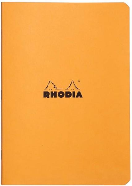 Rhodia 119184C Heft (DIN A5, 14,8 x 21 cm, kariert, 48 Blatt) 1 Stück orange