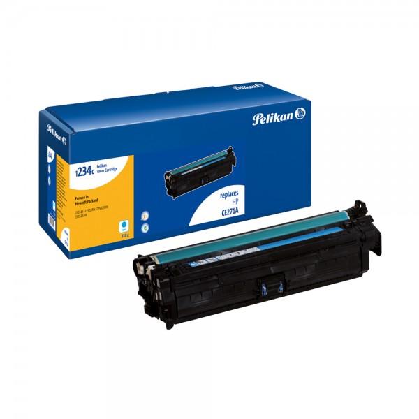 Pelikan Toner 1234c komp. mit CE271A HP CLJ Enterprise CP5525 cyan