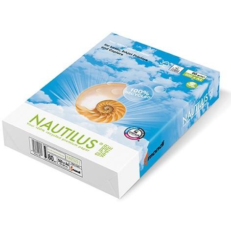 Mondi Nautilus super white 80g/m² DIN-A3 / 500 Blatt Papier weiß