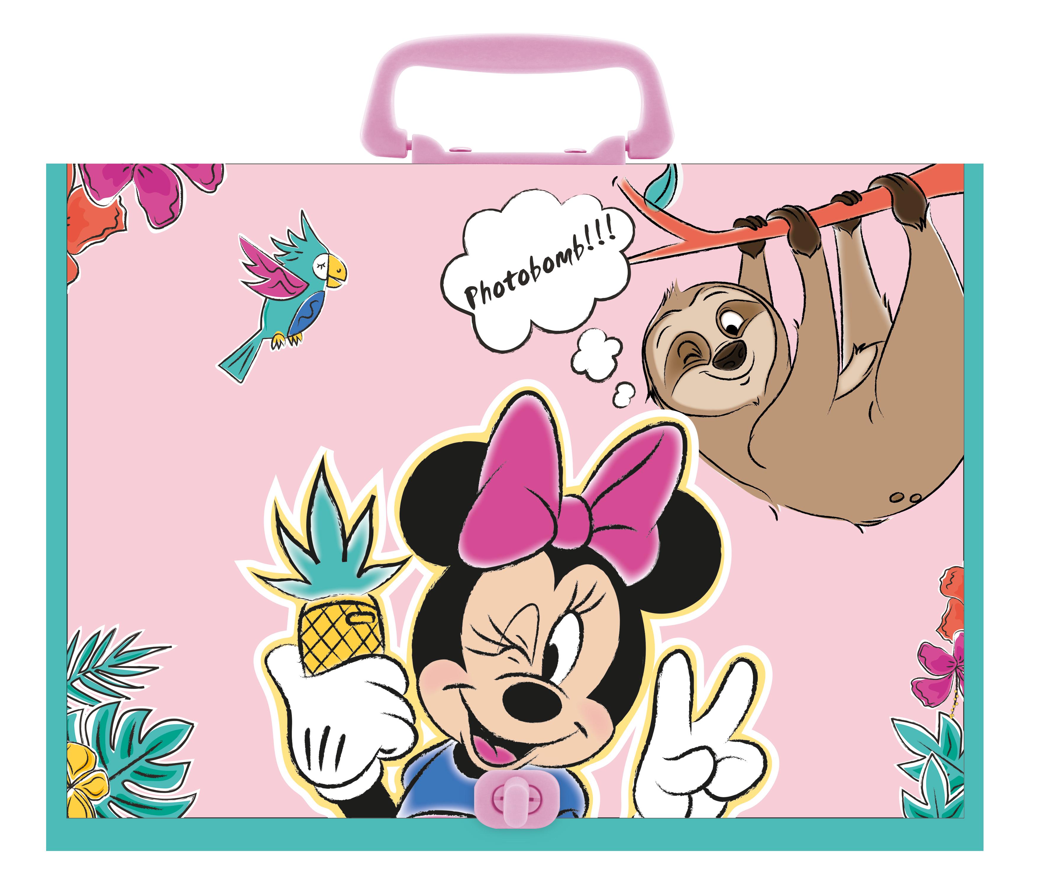 "Utensilienbox ""Minnie Maus"", 230x315x55 mm"