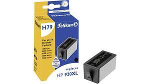 Pelikan Tintenpatrone ersetzt HP CD975AE, Black, 1233 Seiten