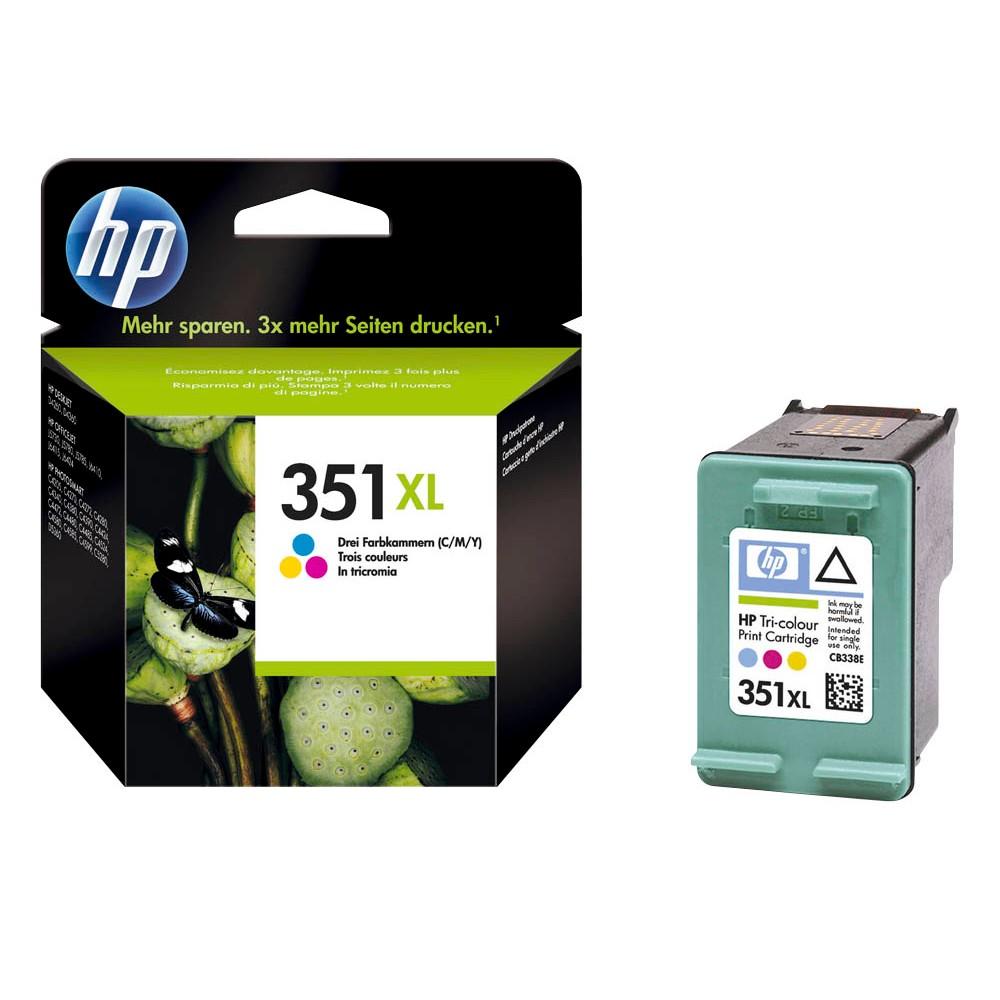 HP 351XL (CB338EE) color Tintenpatrone
