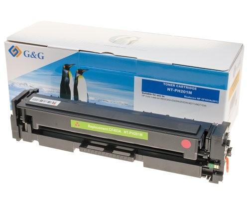 G&G Toner kompatibel zu HP 201A/ CF403A Magenta