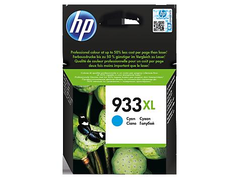 HP Tintenpatrone CN054AE Nr. 933XL für Officejet 6100 etc. cyan