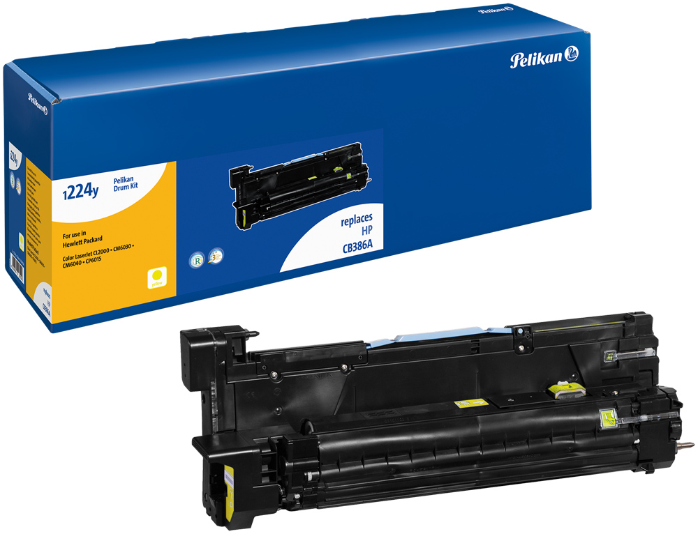 Pelikan Toner 1224DRy  komp. zu CB386A HP Color LaserjetCL2000 etc. yellow
