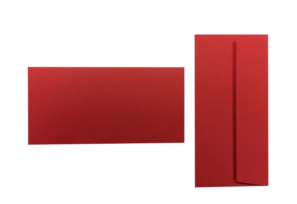Pop'Set Umschläge DIN Lang ziegelrot 120g/m² 100 Stück