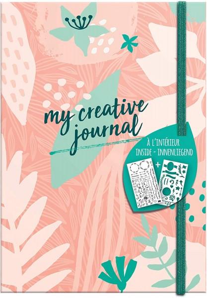 Clairefontaine 97403C Heft My Creative Journal DIN A5, 208 Seiten, Dot Lineatur, 90g/qm, 1 Stück, Sw