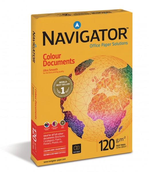 Navigator Color Documents 120g/m² DIN-A3 - 500 Blatt weiß