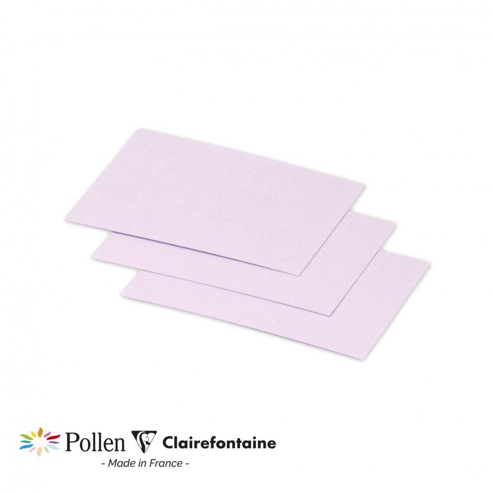 Clairefontaine Pollen Papier Flieder 210g/m² 25 x 2010 g (70 x 95mm)