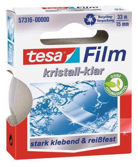 Vorschau: tesafilm kristall-klar 33m x 15mm
