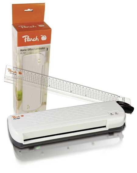Peach PBP105 2-in-1 Laminiergerät DIN-A4 mit Rollenschneider , in wenigen Minuten startklar , 2x100