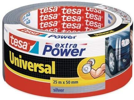 tesa Reparaturband extra Power Universal , silber, 25m x 50mm