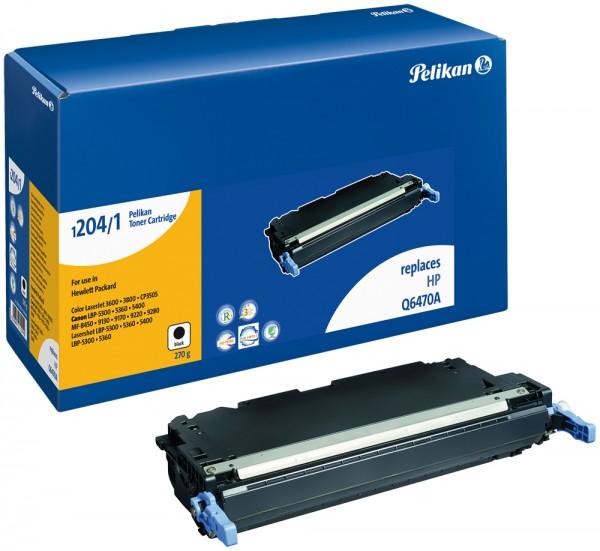 Pelikan Toner 1204 komp. zu Q6470A HP Color LaserJet 3600 black