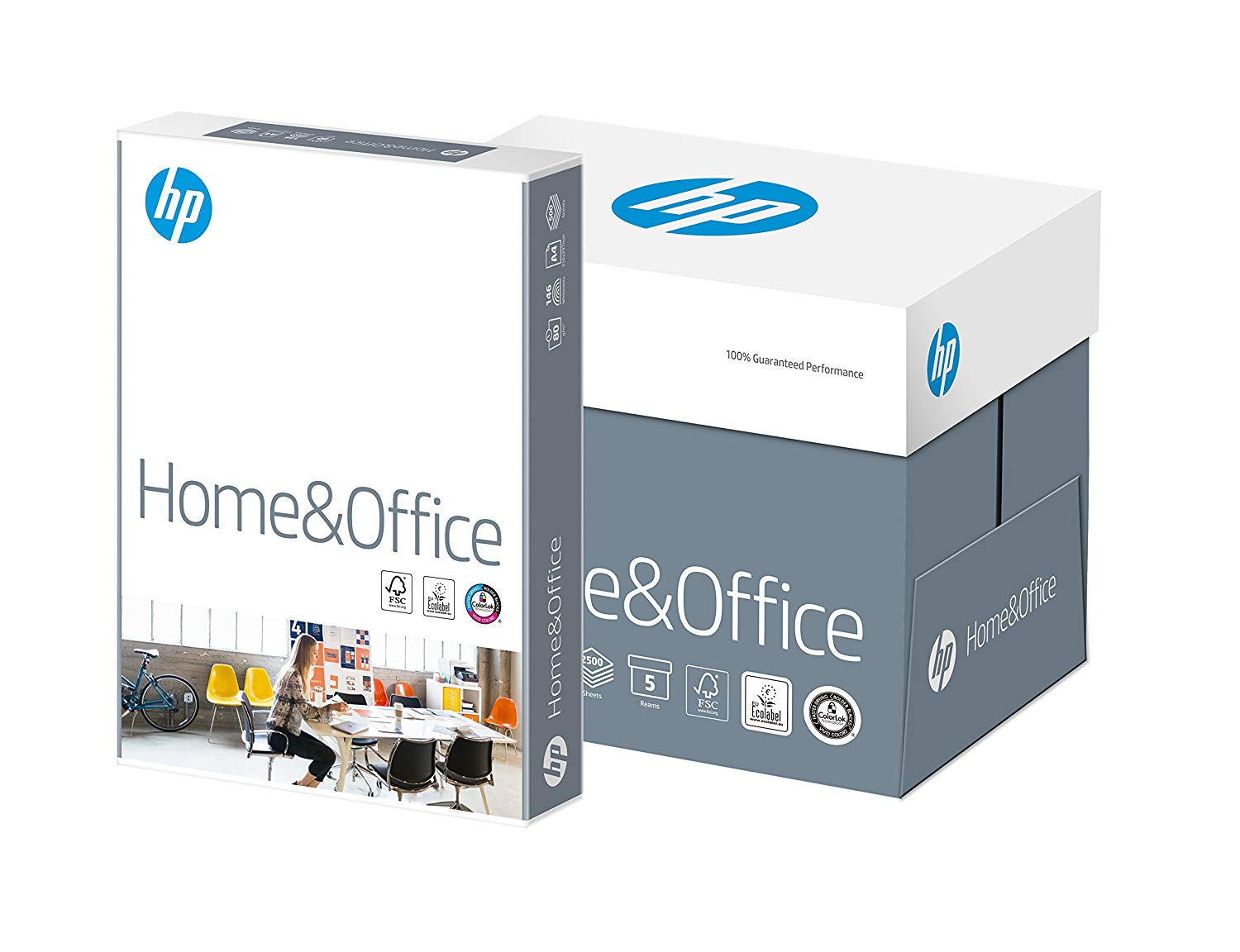 HP Home & Office Papier 80g/m² DIN-A4 - 2500 Blatt CHP150