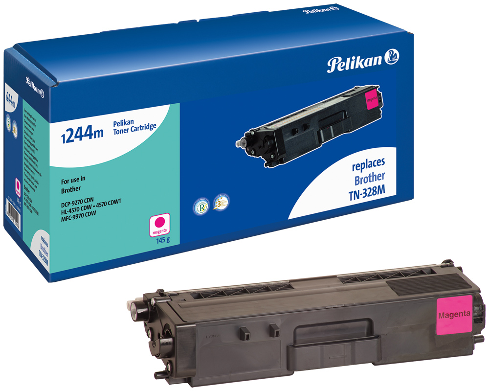 Pelikan Toner komp. zu TN-328M Brother DCP-9270 CDN etc. magenta