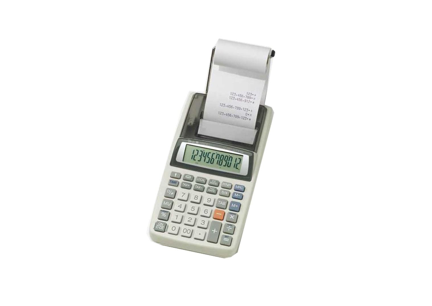 Peach Rechner PR680, 12-stellig, Stromadapter oder Batterie