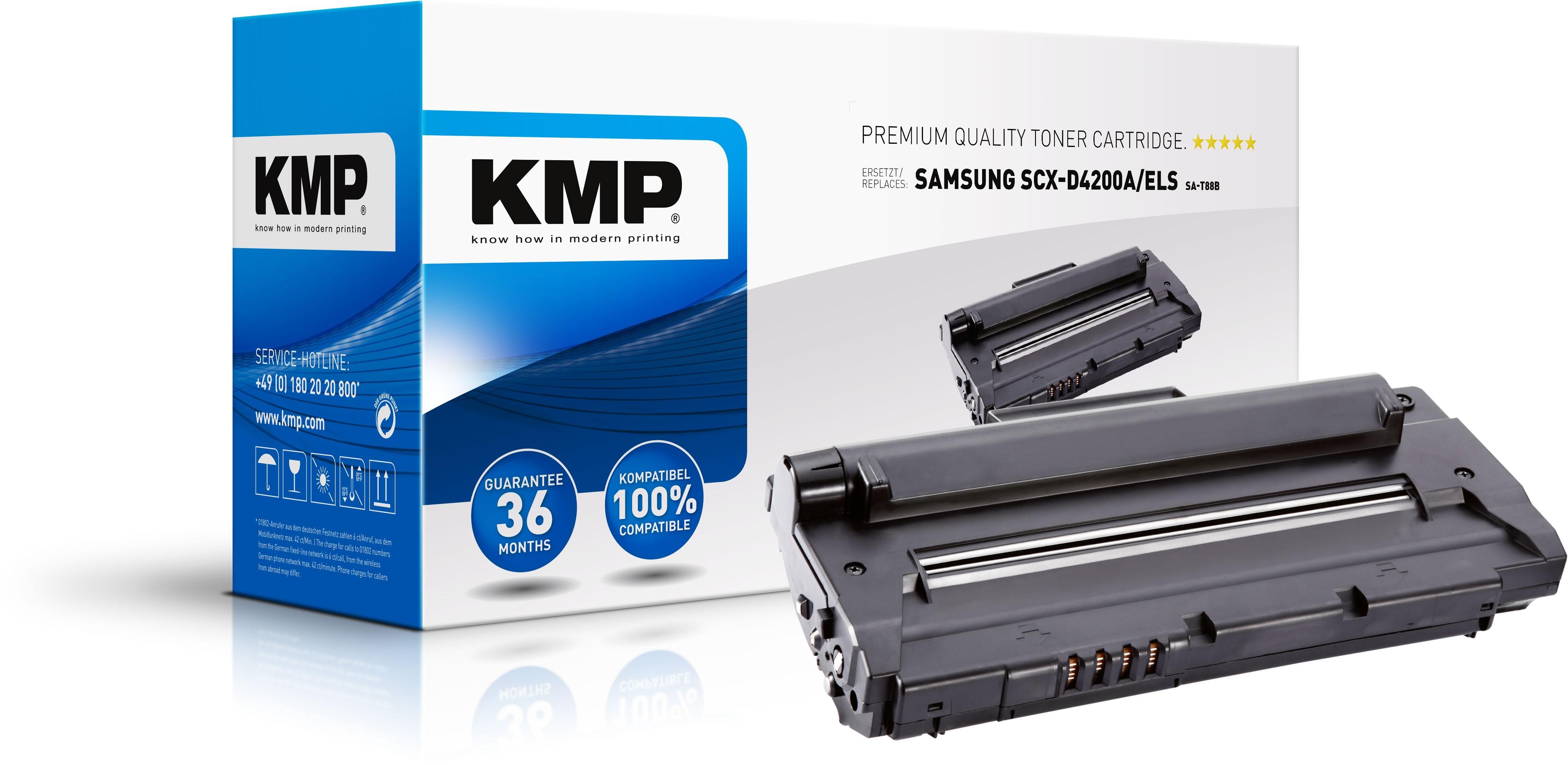 KMP Toner für Samsung SA-T88B SCX-D4200A/ELS SCX-4200 etc. schwarz