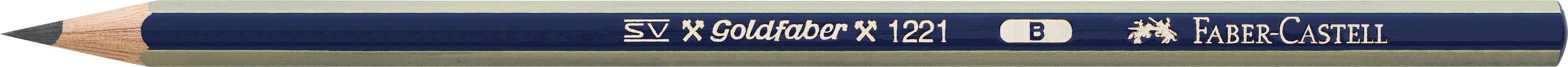 Faber-Castell Bleistift Goldfaber 1221 B