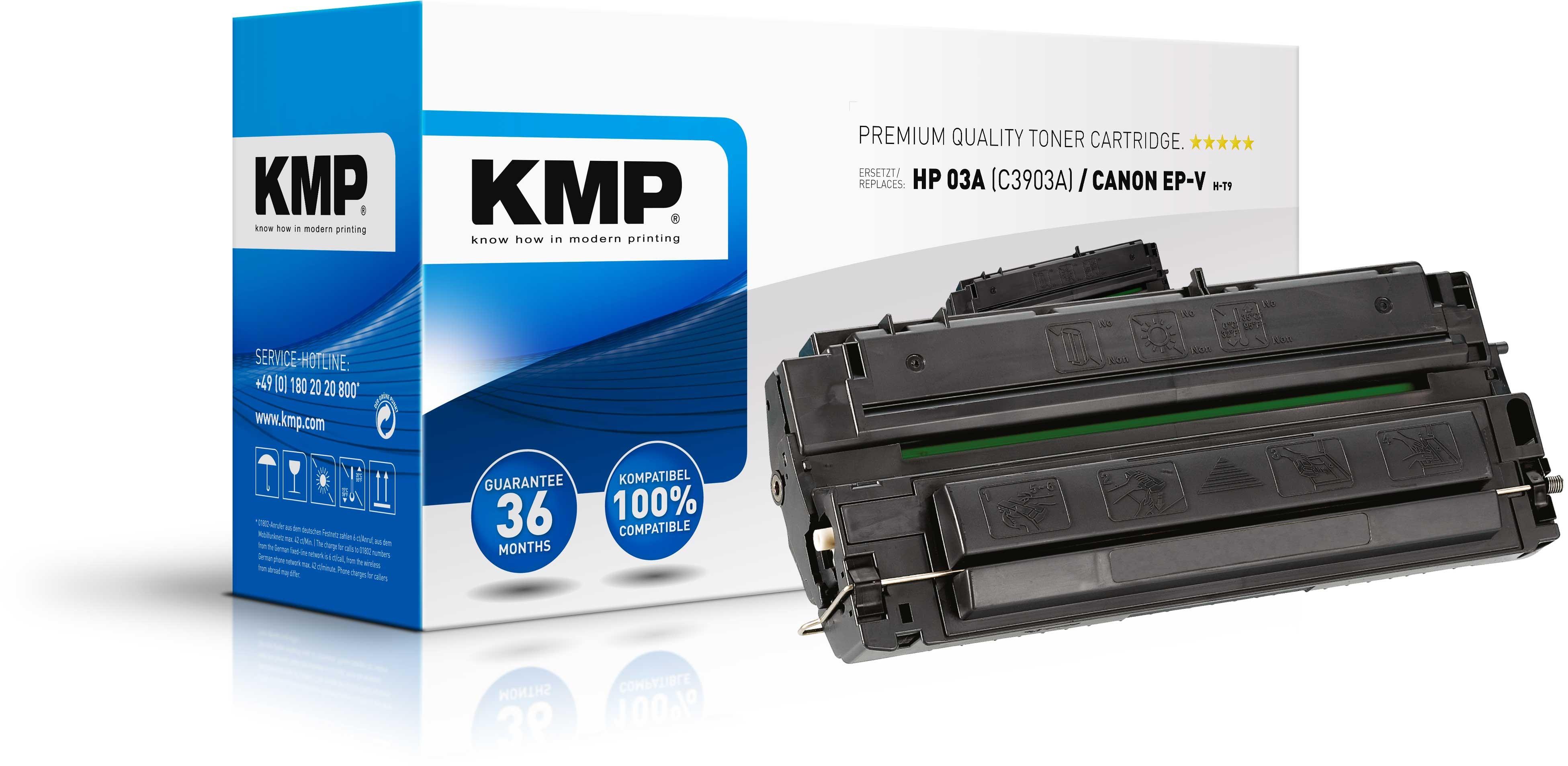KMP Toner für HP C3903A Laserjet 5P / 5MP / 6P / 6MP
