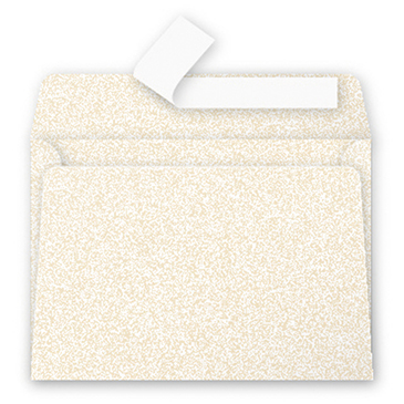 Clairefontaine Pollen Umschläge C6 Perlmutt-Elfenbein 120g/m² 20 Stück