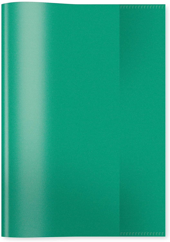 HERMA 7485 Heftumschläge DIN A5 transparent, durchsichtig, Hefthüllen aus strapazierfähiger und abwi