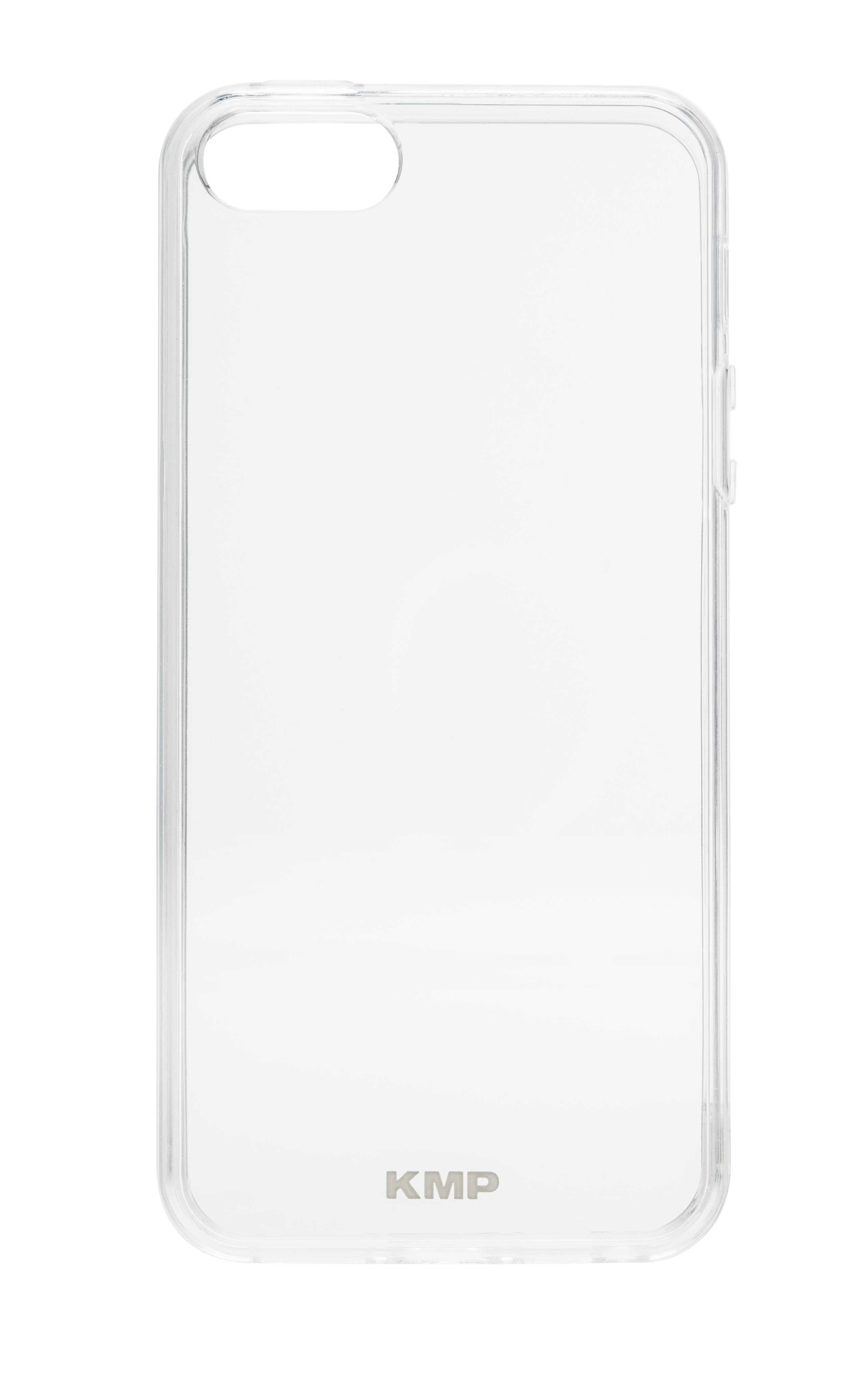 KMP Schutzhülle für Apple iPhone 5, 5s transparent