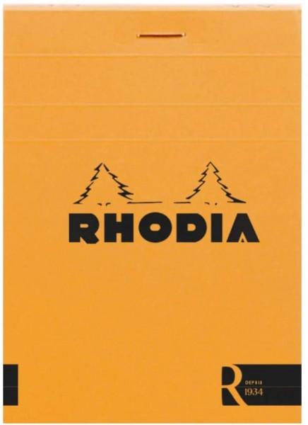 Rhodia 122007C Notizblock (elfenbein, blanko, 90 g, 85 x 120 mm, 70 Blatt, ideal für Ihre Notizen) 1