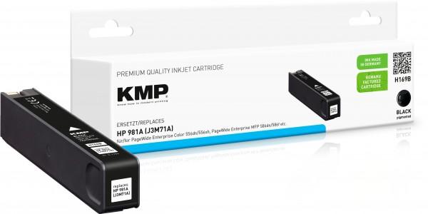 KMP H169B schwarz Tintenpatrone ersetzt HP Page Wide Enterprise HP 981A (J3M71A)