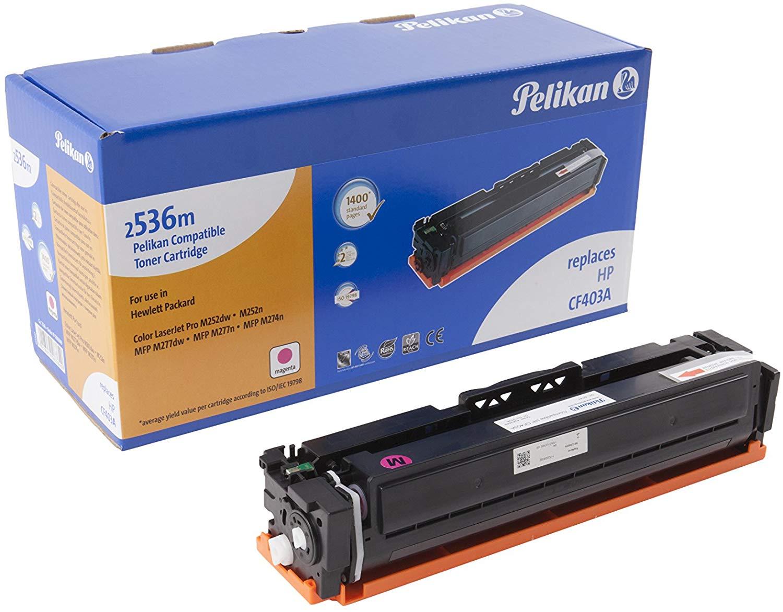 Pelikan Toner ersetzt HP CF403A, Magenta, 1400 Seiten